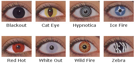 Halloween Wild Eyes Contacts – Halloween