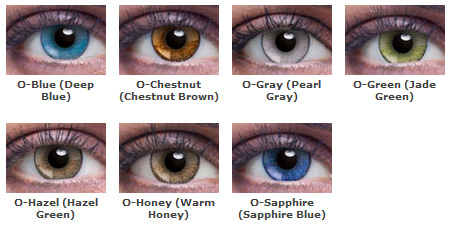Cosmetic Colored Contacts