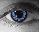 Blue Demon Contact Lenses