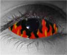 Flames Contact Lenses