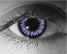 Violent Violet Contact Lenses